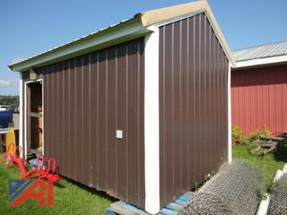 Steel Sided 10' x 15' Building