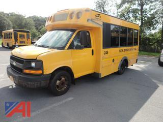 2008 Chevy Girardin Express 3500 Mini Bus