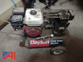 Dayton Gas Powered Air Compressor