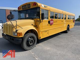 (#213) 2004 International 3000 School Bus  with Wheelchair Lift