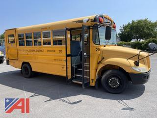 (#216) 2005 International CE School Bus with Wheelchair Lift