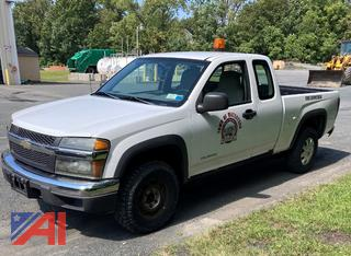 2004 Chevy Colorado Extended Cab Pickup Truck