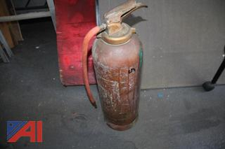 Pressurized Fire Extinguisher and Soda Acid Extinguishers