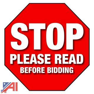 You cannot bid until....