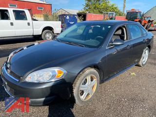 2012 Chevy Impala 4 Door/Police Vehicle