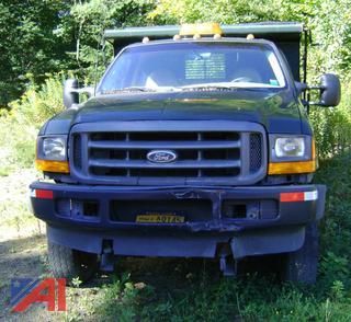 2000 Ford F450 Super Duty Dump Truck