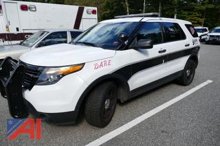 (#9) 2014 Ford Explorer SUV/Police Vehicle