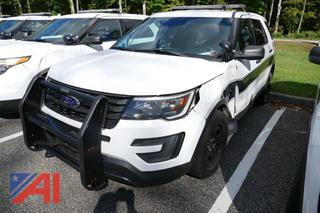 (#7) 2017 Ford Explorer SUV/Police Vehicle