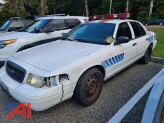 (#3) 2008 Ford Crown Victoria 4 Door/Police Interceptor