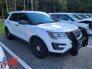 (#13) 2017 Ford Explorer SUV/Police Vehicle
