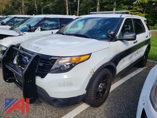 (#10) 2015 Ford Explorer SUV/Police Vehicle