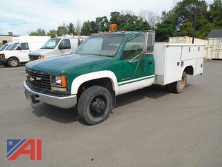 1993 Chevy C/K 3500 Utility Truck