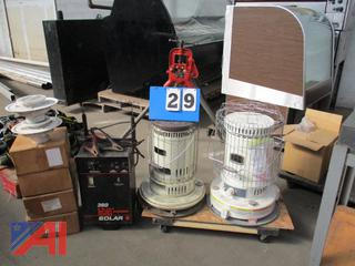 Kerosene Heaters, Battery Charger and More