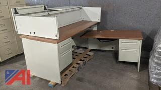 """L"" Shaped Desk"