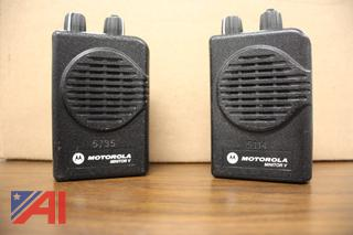 Motorola Minitor 5 Hi Band Pagers with Chargers