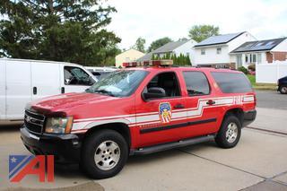 2007 Chevy LS1500 Suburban/Emergency Vehicle