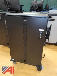 (#2103) Dell Compact Charging Mobile Carts