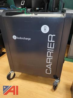 (#2102) Lock-n-Charge 30 Bay Charge Carts