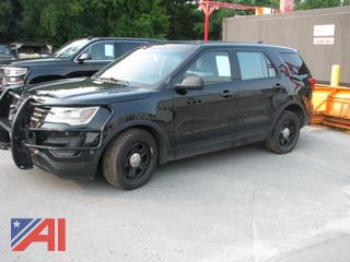 2016 Ford Explorer SUV/Police Vehicle