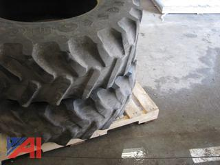 Tractor Tires and Rim