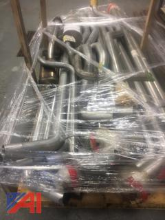 Pallet of Mufflers, Pipes & Converters, New/Old Stock