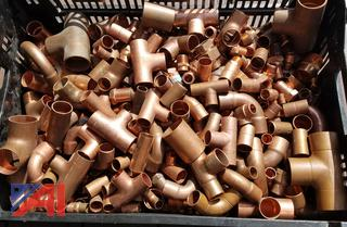 Copper Pipe Fittings, New/Old Stock