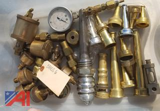 Brass Items, Hydraulic Fittings, Couplers & More