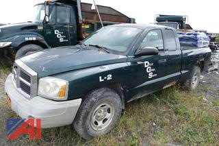 (L-2) 2006 Dodge Dakota ST Extended Cab Pickup Truck