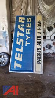 Outdoor Lightup Business Signs