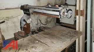 Craftsman Saw, Craftsman Drill Press, Black & Decker and Ryobi Minor Saw