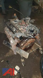 350 Chevy 4 Bolt Main - From 87 Chevy Van