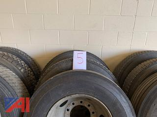 10R22.5 Tires and Wheels