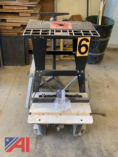 Craftsman Router Tables and Router