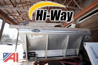 2001 Hi-Way S/S 10' V-Body Spreader