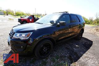 2017 Ford Explorer SUV/Police Interceptor