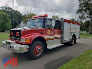 1997 International 4700 Crew Cab Emergency Truck
