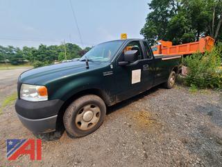 (#6) 2007 Ford F150 STX Pickup Truck