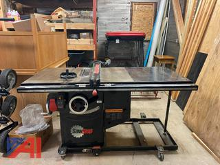 """SawStop 10"""" Professional Cabinet Saw"""