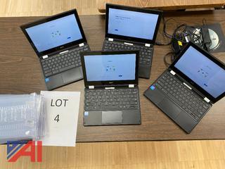 Chromebooks, Lot 4