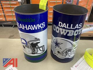 NFL Metal Cans