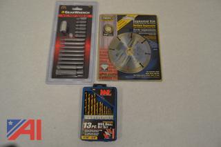 (#17) Torx Drivers, Circular Blade and Drill Bit Set New/Old Stock