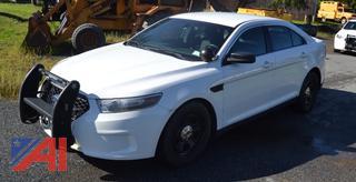 (#24) 2014 Ford Taurus 4 Door/Police Vehicle