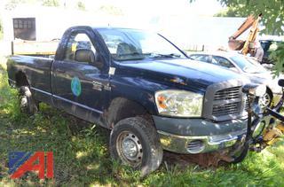 (#26) 2007 Dodge Ram 2500 SLT Pickup Truck with Plow