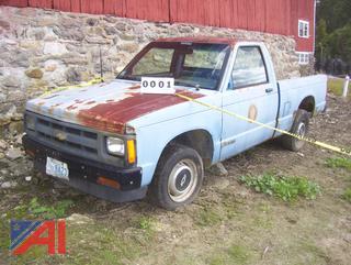 1991 Chevy S10 Pickup Truck