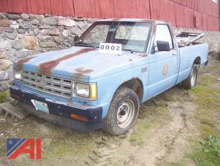 1985 Chevy S10 Pickup Truck