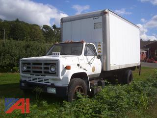 1985 GMC 6000 Box Truck