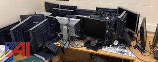 Assorted Older Computer Monitors
