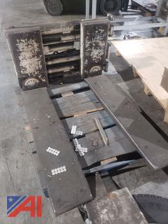 Cascade Pallet Clamp Forklift Attachment