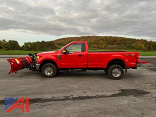 REDUCED BP 2019 Ford F350 Super Duty Pickup Truck with Plow