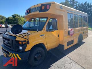 2012 Ford E450 Super Duty Mini School Bus